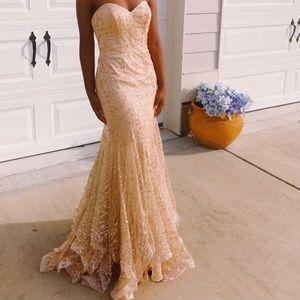 Ellie Wilde Prom Mermaid Dress EW118068
